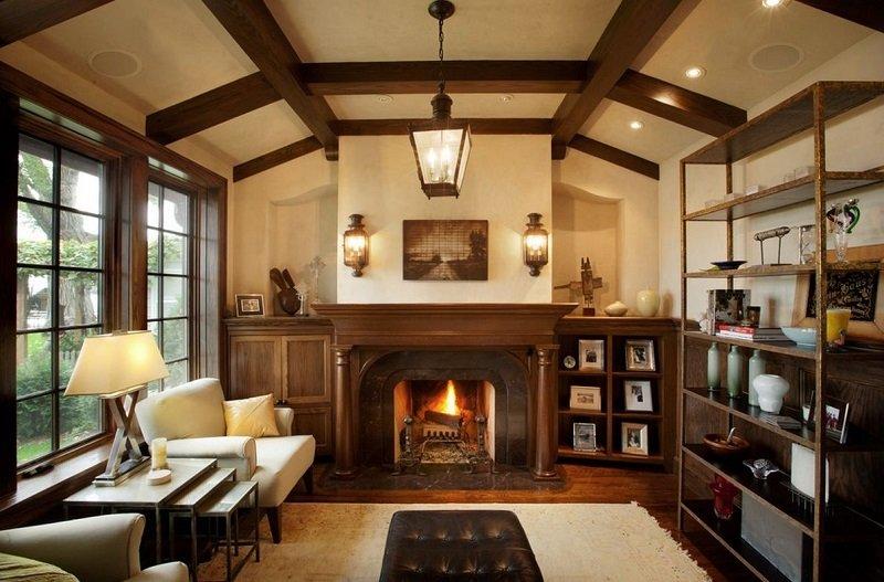 intérieur style tudor