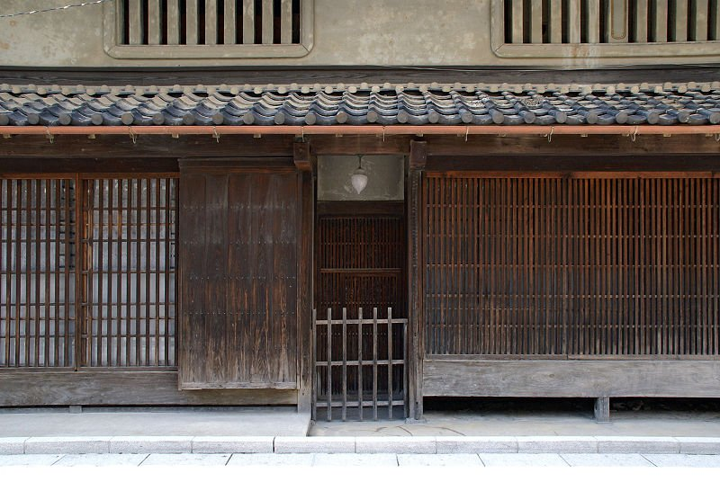 façade machiya