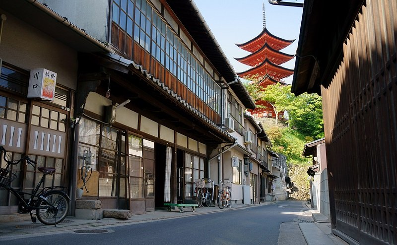 rue de machiya