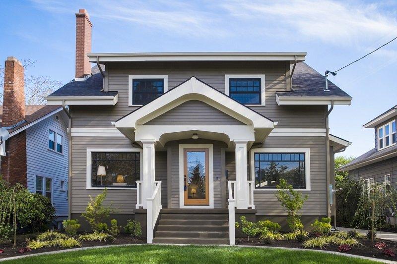 maisons style bungalow usa