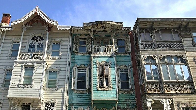 les maisons en bois d'istanbul