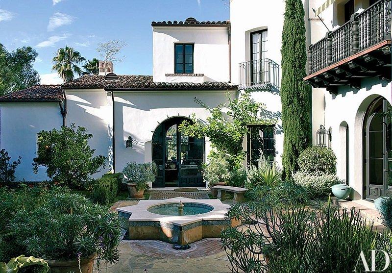 maison style mediterannéen usa