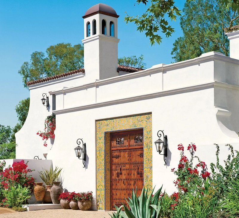 maison style renouveau espagnol