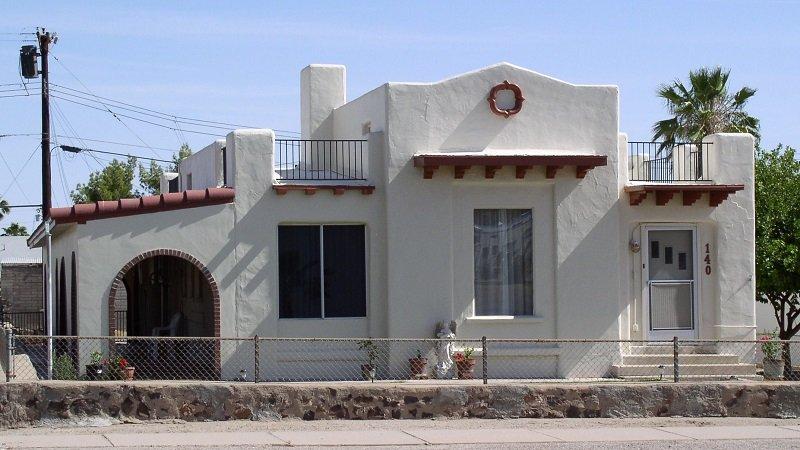 architecture style renouveau espagnol