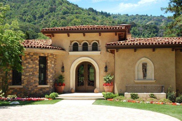 maison en stuc