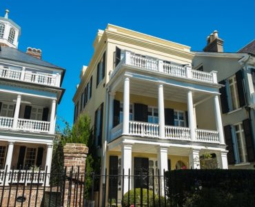 architecture de style charleston