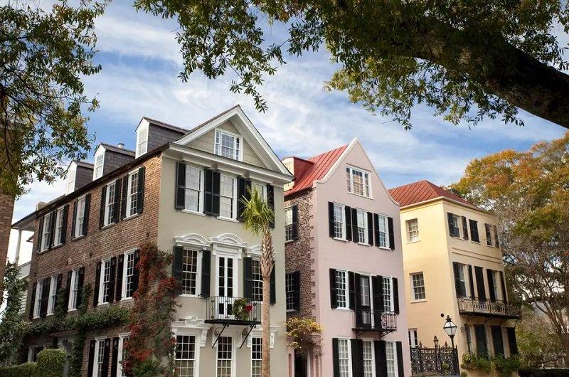 maisons historiques de Charleston