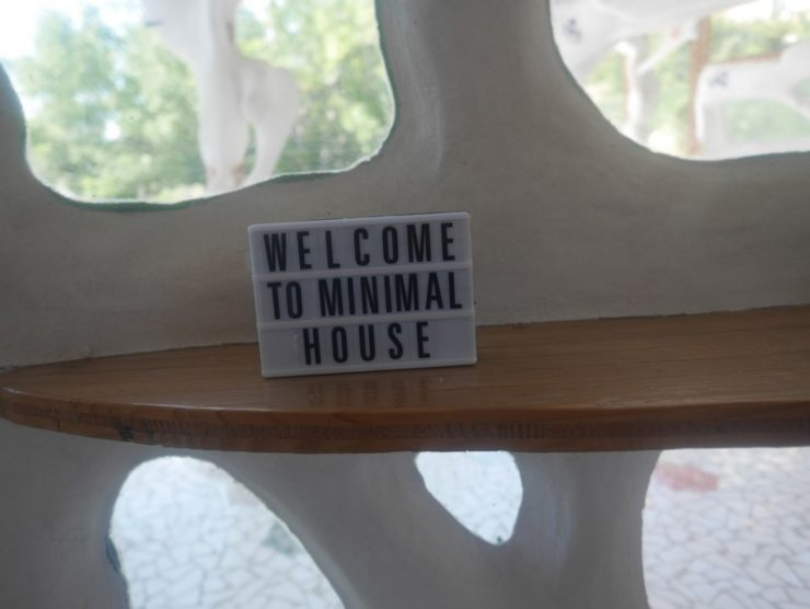 welcome to minimal house