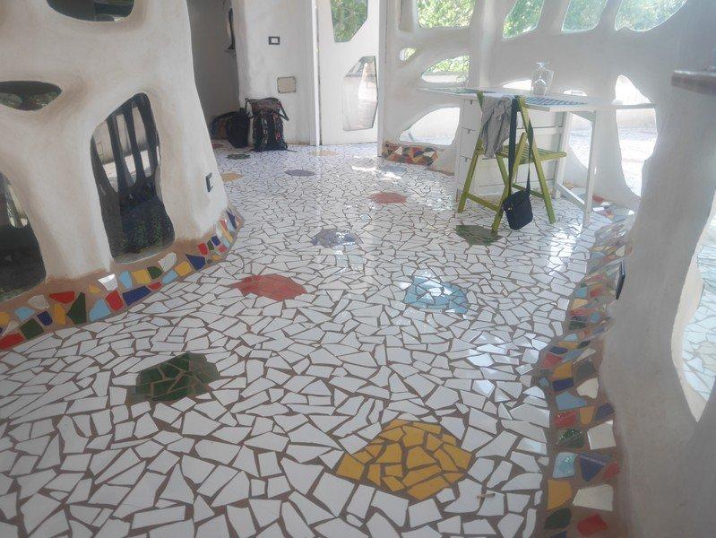 mosaique au sol