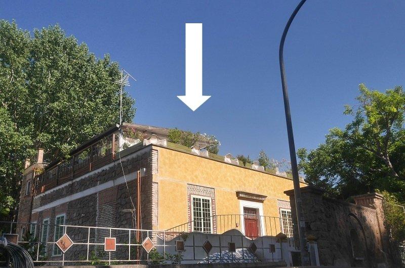 logement toit villa