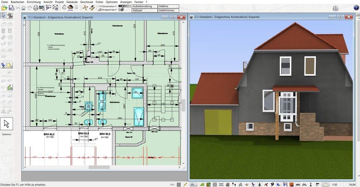 logiciel plan maison