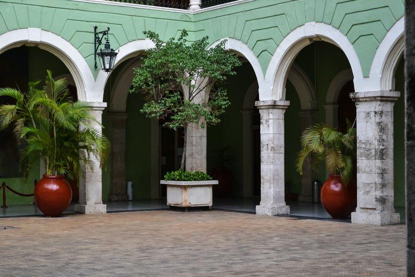 architecture hacienda