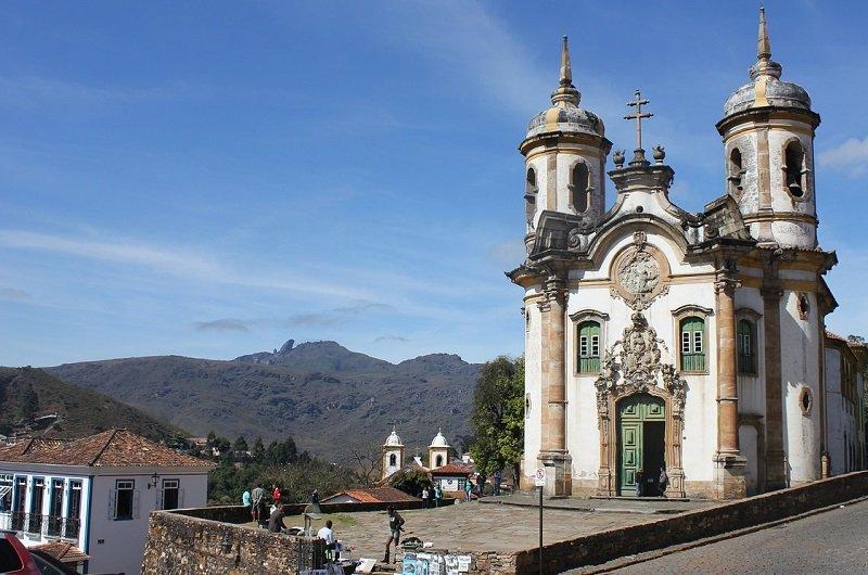 église saint françois ouro preto