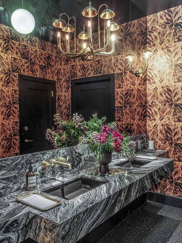 salle de bains art deco