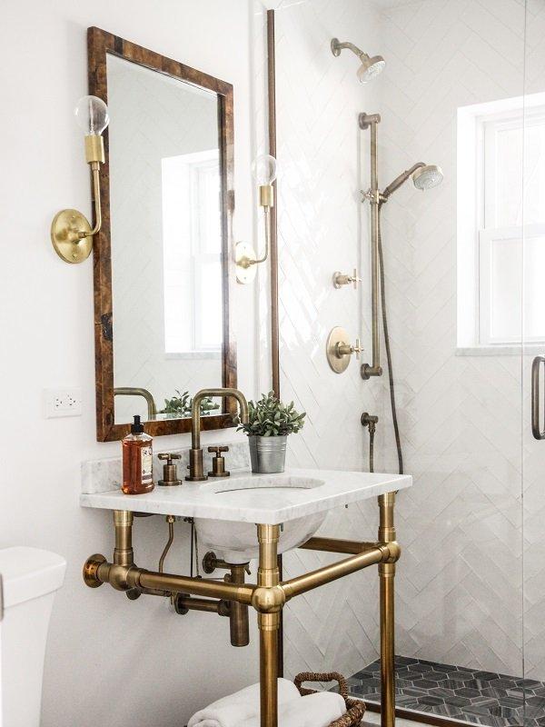 salle de bains style art deco