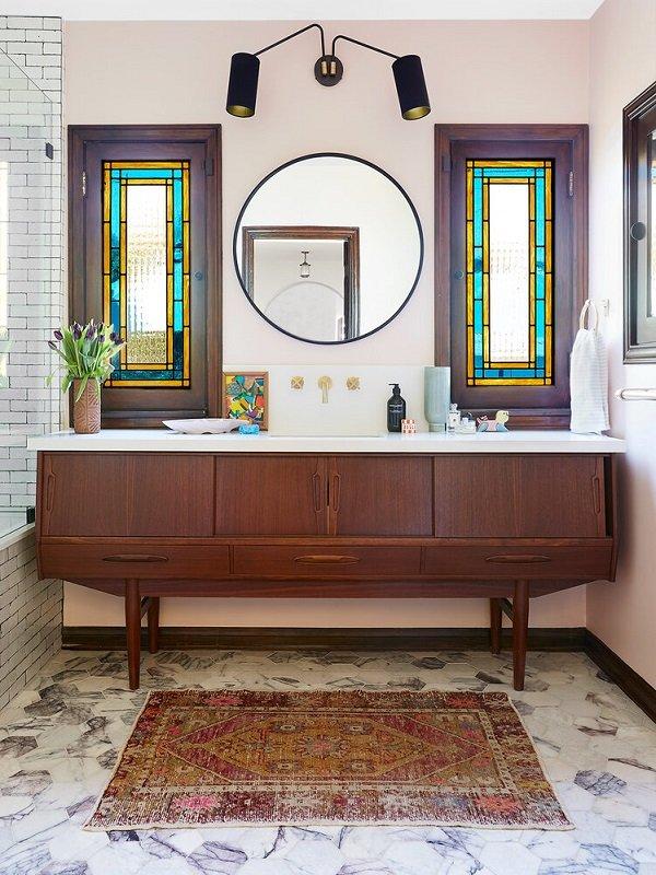 salle de bains inspiration art deco