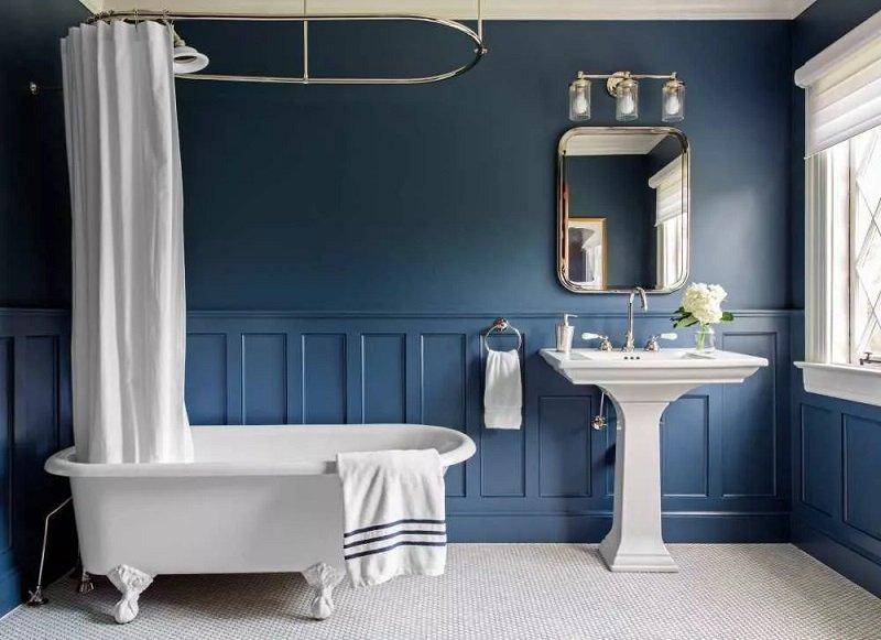 salle de bains caractéristiques art deco