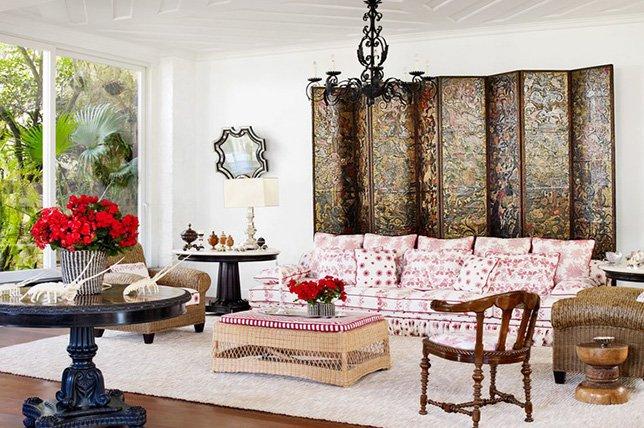 salon style eclectique