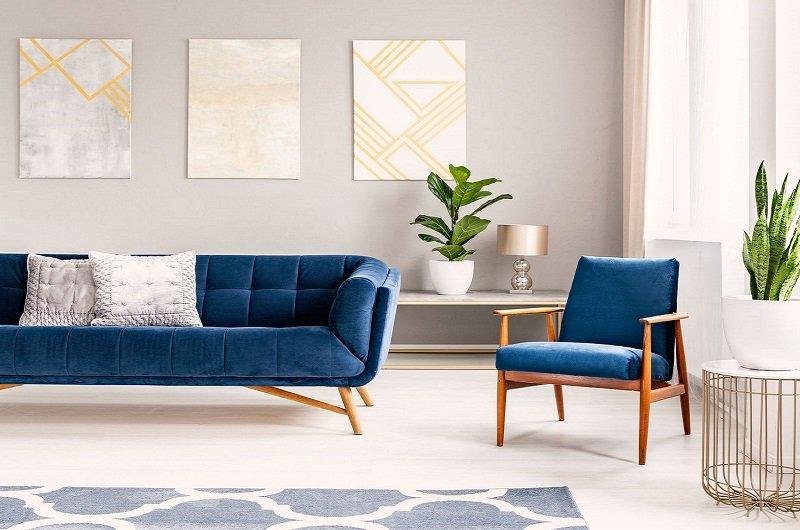 salon de style minimaliste