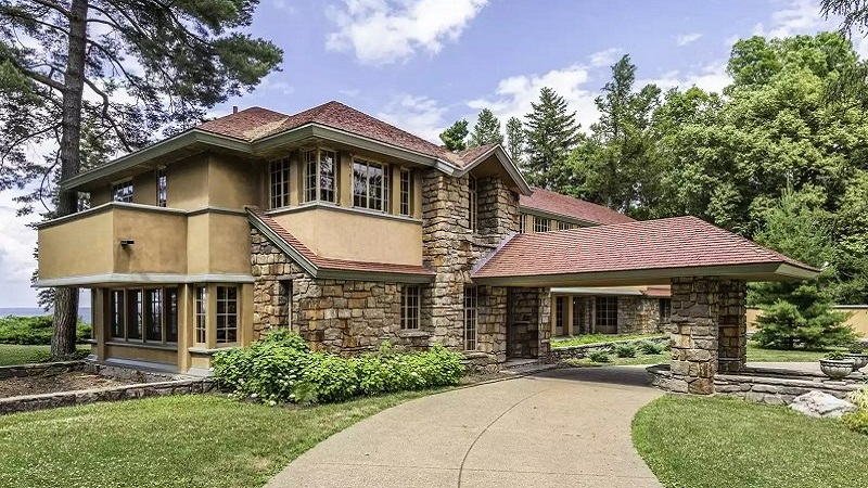 superbes maisons frank lloyd wright