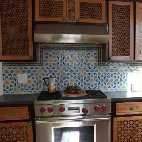 cuisine design marocain