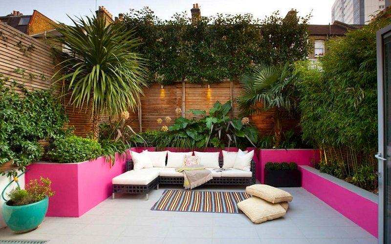 jardin style marocain