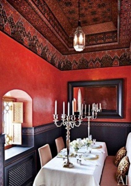 style marocain en décoration intérieure