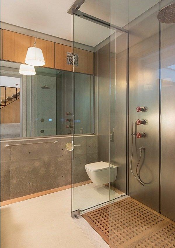 salle de bains originale industrielle