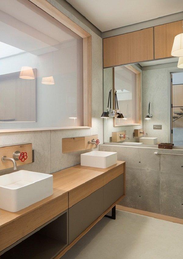 salle de bains design industriel