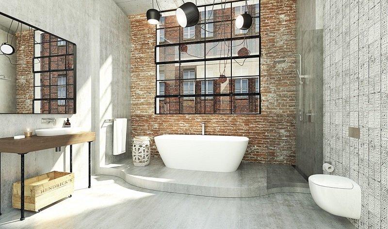 design industriel salle de bains