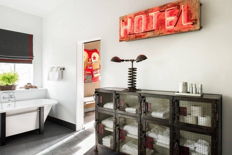 salle de bains look industriel