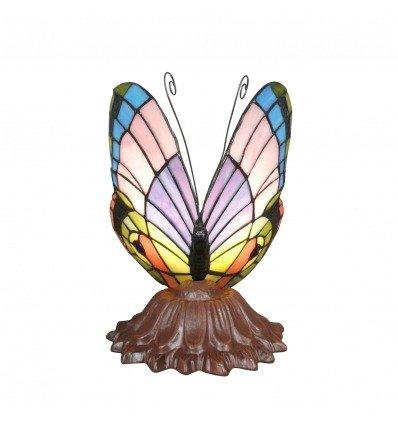 lampe tiffany papillon