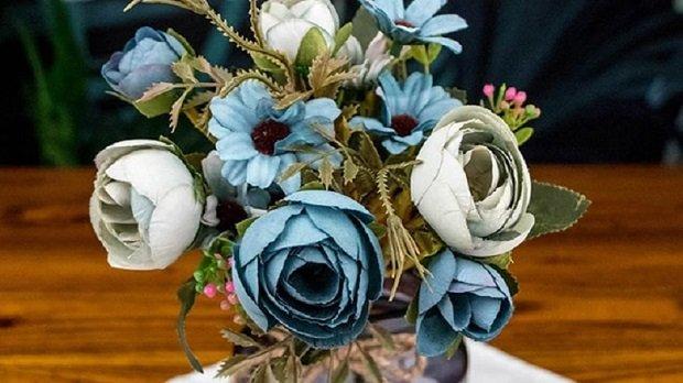 décorer votre intérieur avec des fleurs artificielles